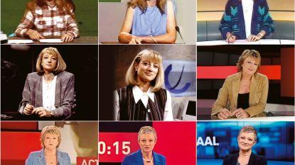 Martine Tanghe, veertig jaar nieuwsanker: van 'Rooie Martine' tot enthousiaste oma