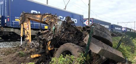 Schade spoor Deurne op z'n vroegst donderdag hersteld