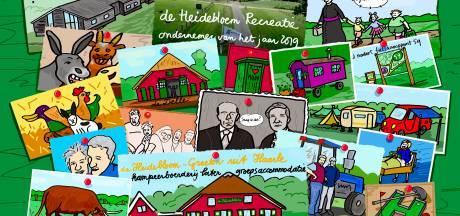 De Heidebloem Recreatie ondernemer van 2019 van Haarle