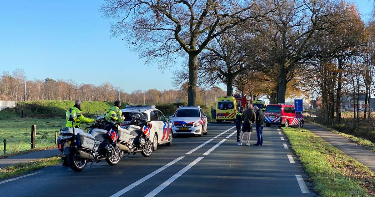 Persoon overleden bij eenzijdig ongeval in Nijverdal.