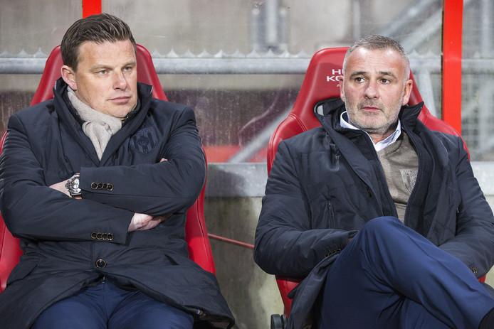 Robby Alflen was 2,5 jaar assistent-trainer onder John Stegeman bij Heracles Almelo.