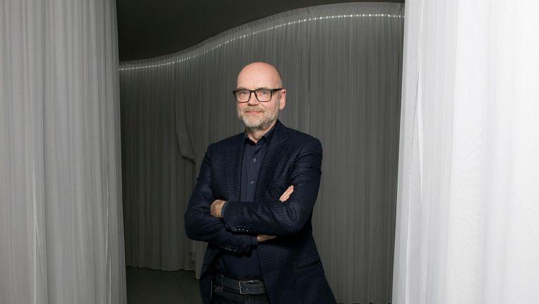 Andreas Blühm (59) directeur van het Groninger Museum. Beeld Judith Jockel