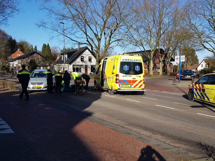 Ongeval in Groesbeek.
