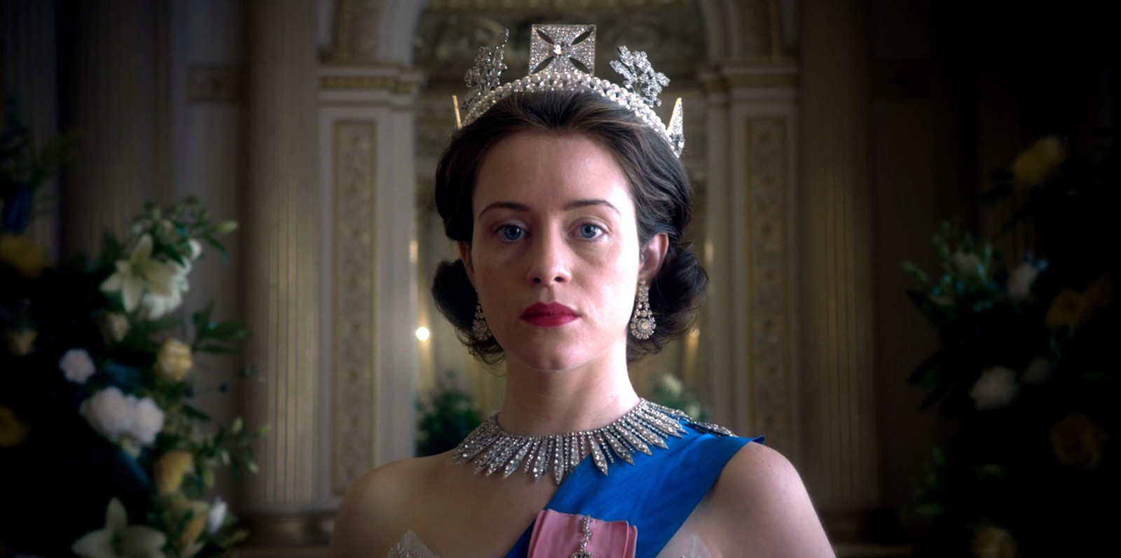 Claire Foy in The Crown.