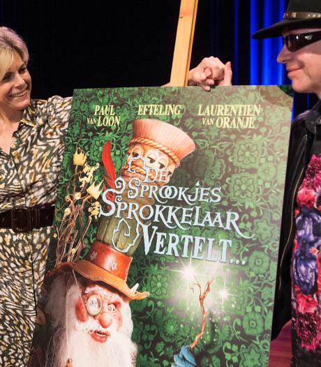 Vervolg op Eftelingboek De Sprookjessprokkelaar:  'Prinses Laurentien mailt me midden in de nacht'