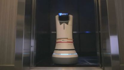 Robot zorgt voor roomservice in Amerikaans hotel