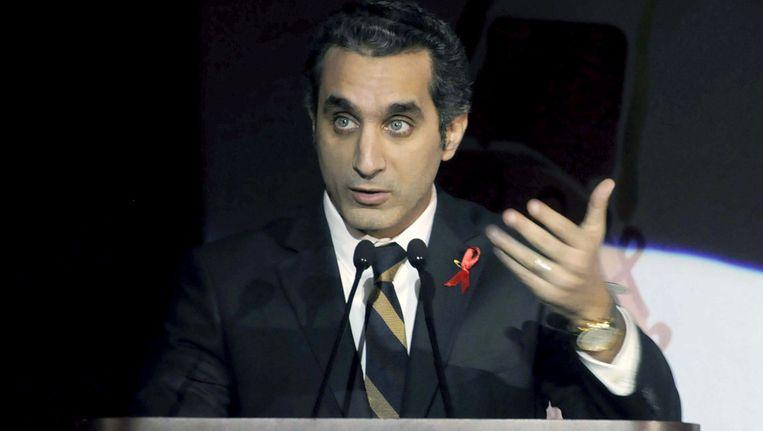 Bassem Youssef. Beeld ap