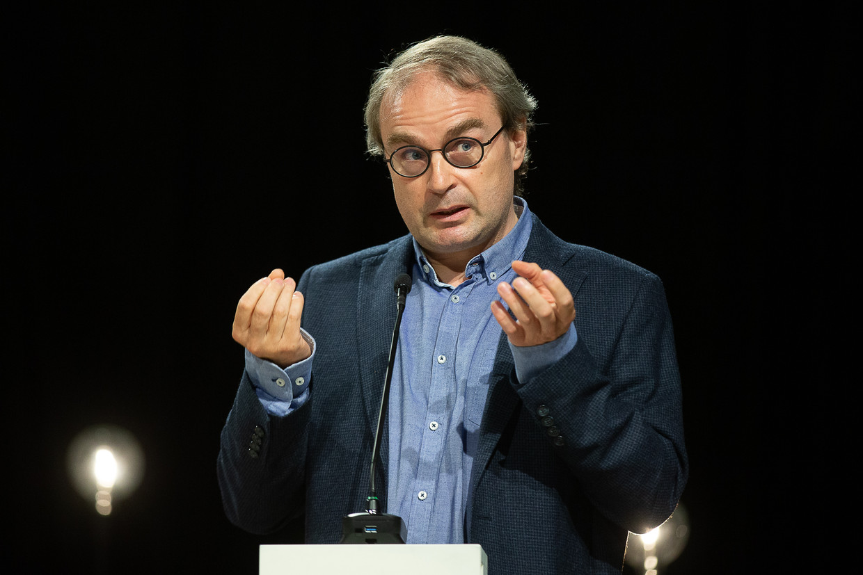Specialist infectieziekten UZ Gent Prof. Dr. Steven Callens Beeld BELGA