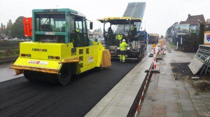Rioleringswerken 4 maanden vroeger klaar dan gepland: N177 vanaf 7 maart weer volledig open voor verkeer