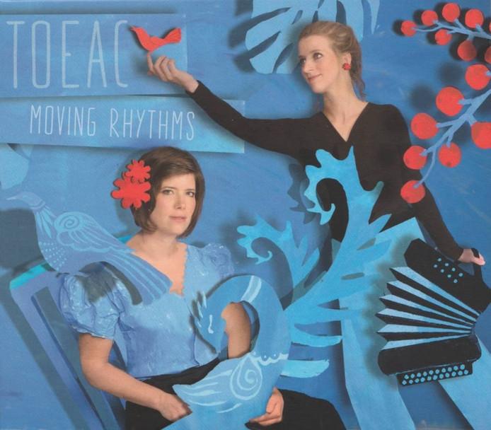Renée Bekkers (l) en Pieternel Berkers op de cover van hun derde album.