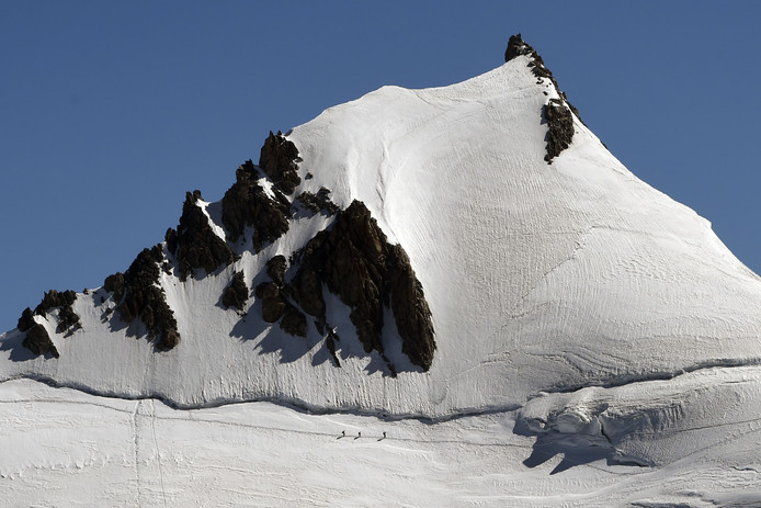 De Mont Blanc. Foto ter illustratie.