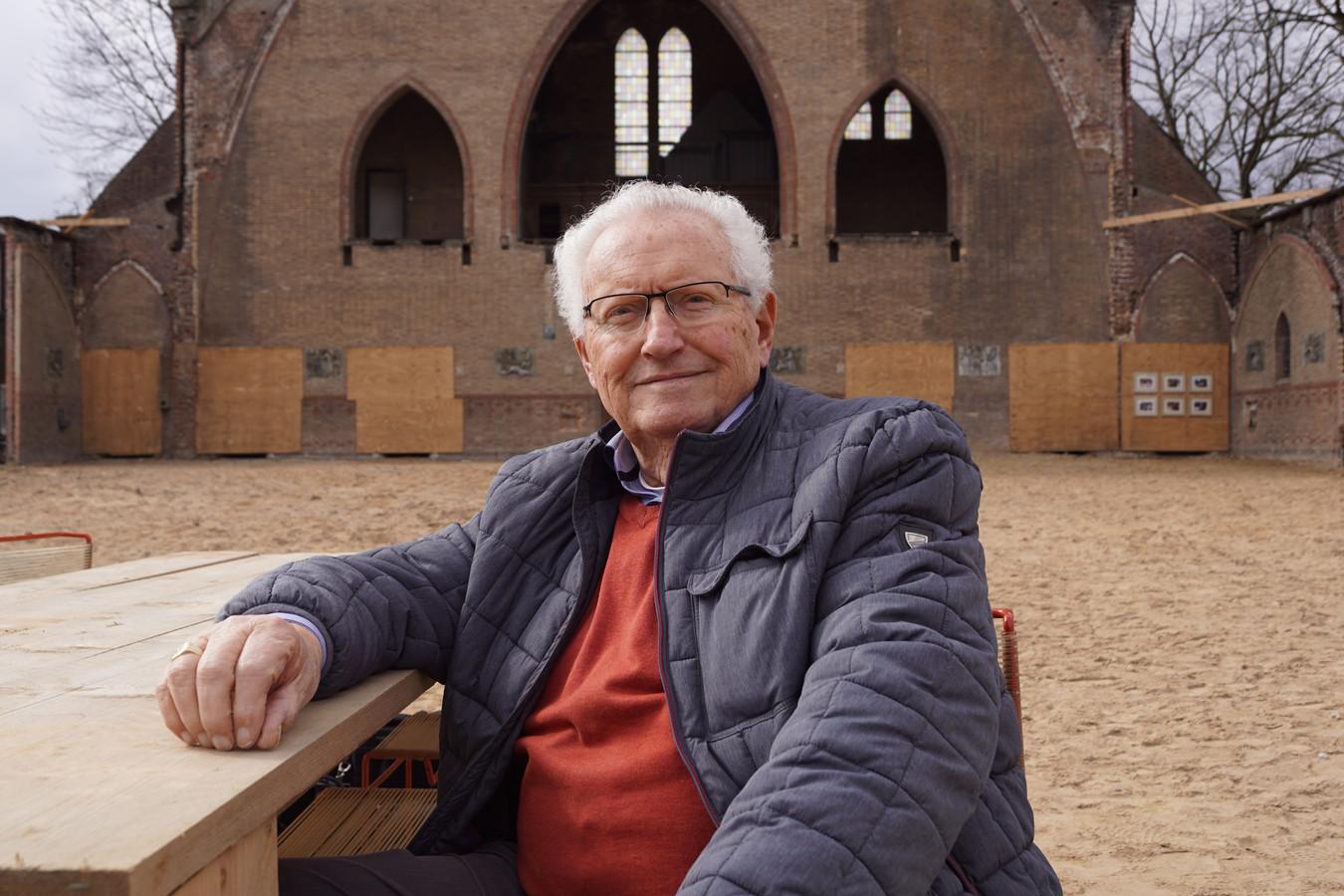 Henk de Bont was vijf jaar voorzitter van het kerkbestuur.