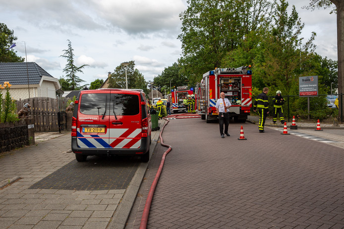 Schuurbrand in Roosendaal