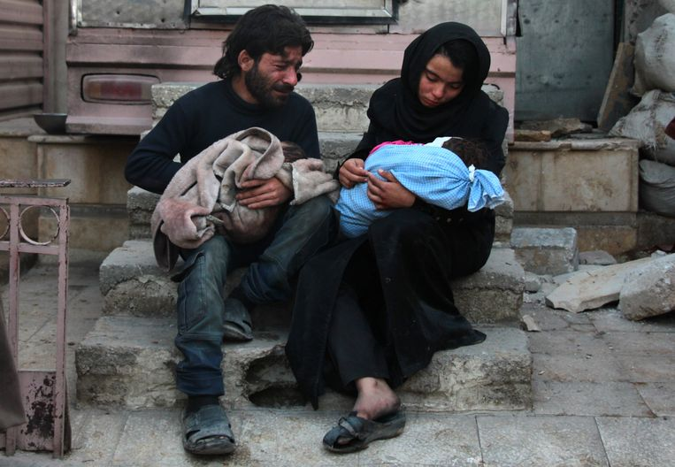 De oorlog eiste zeker een half miljoen levens, waaronder veel vrouwen en kinderen.