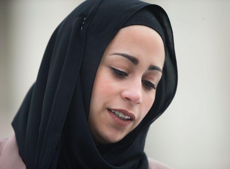 Samantha Elauf won vorig jaar een rechtszaak tegen haar werkgever Abbercrombie & Fitch. Beeld ap