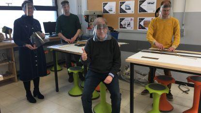 Githo Nijlen maakt en verdeelt 950 gelaatsmaskers