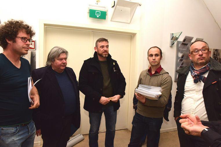 Er werden vorig jaar al heel wat bezwaarschriften ingediend door de vier plaatselijke partijen aan Jan Vermang de gemachtigde van de minister