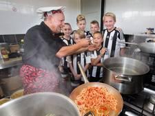 Voetbaldag Juventus eindigt met 24 kg pasta