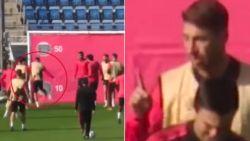Hoogspanning bij Real: potje van Sergio Ramos kookt over na incident, en dat zal ploegmaat geweten hebben