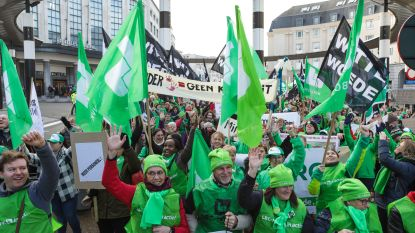 Vakbonden rekenen op duizenden betogers tegen besparingen Vlaamse regering