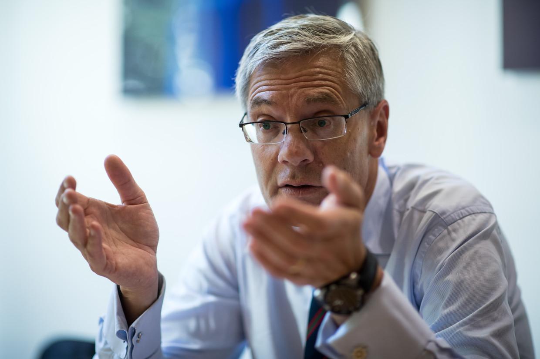Magnus Hall, directeur van Vattenfall.