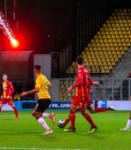 GA Eagles kan opgelucht ademhalen: geen onderzoek aanklager KNVB na vuurwerk