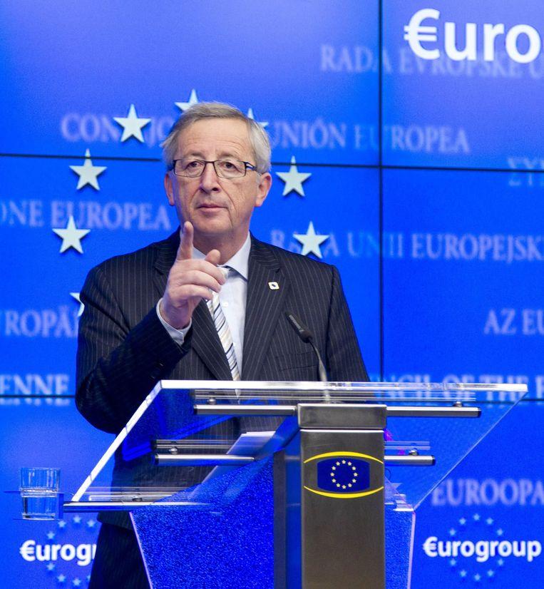 Jean-Claude Juncker Beeld ap