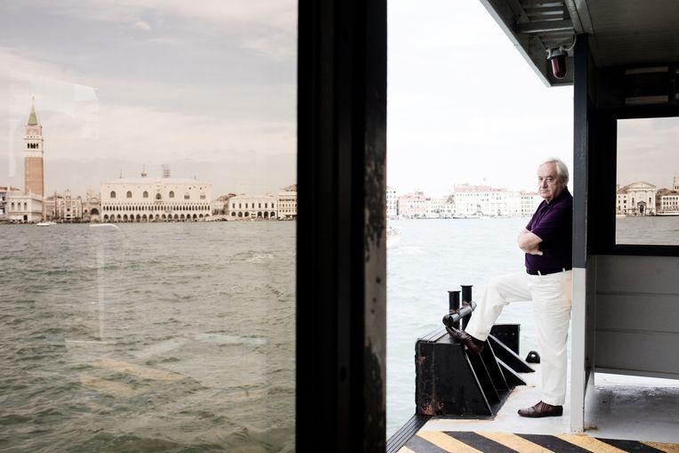 Cees Nooteboom in Venetië. Beeld Hollandse Hoogte / Luz Photo Age