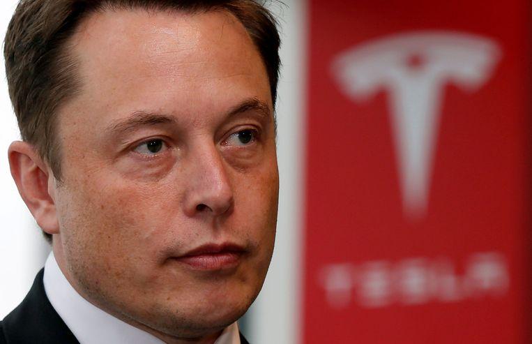 FILE PHOTO:  Tesla Motors Inc Chief Executive Elon Musk pauses during a news conference in Tokyo September 8, 2014.    REUTERS/Toru Hanai/File Photo Beeld REUTERS