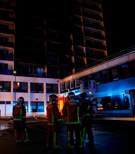 Un mort et des blessés dans l'incendie d'un immeuble jouxtant un hôpital à Créteil