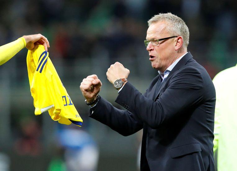 Jan Andersson mag met Zweden zowaar naar het WK.