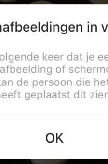 Stiekem screenshots van Instagram Stories maken is voorbij