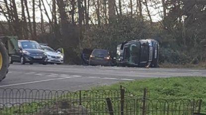 Echtgenoot (97) Britse Queen crasht met zijn Range Rover