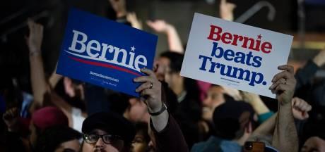 Bernie Sanders neemt zoals verwacht de leiding in Nevada