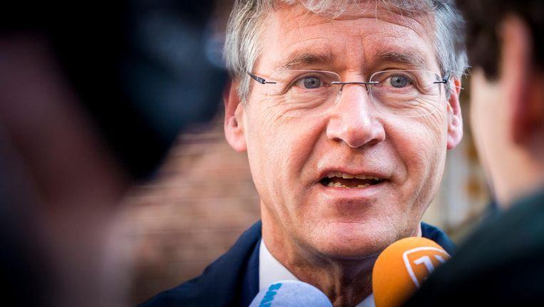 Onderwijsminister Arie Slob erkent dat scholen meer transparant moeten zijn. Beeld ANP