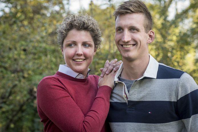 Steffi Verhagen en Roel Verhagen hebben elkaar gevonden bij Boer zoekt Vrouw