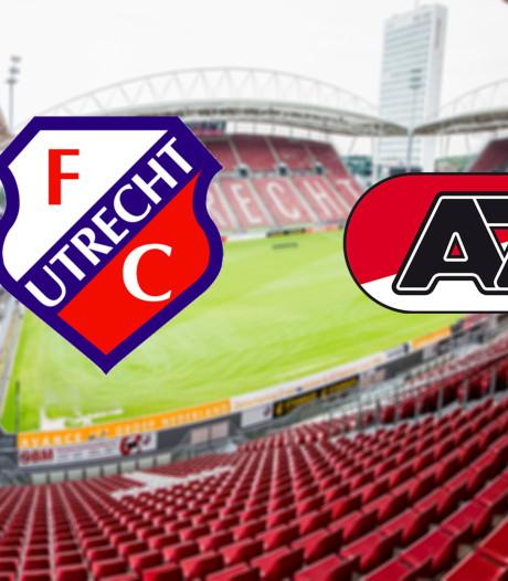 Utrecht kan bij zege naast AZ komen