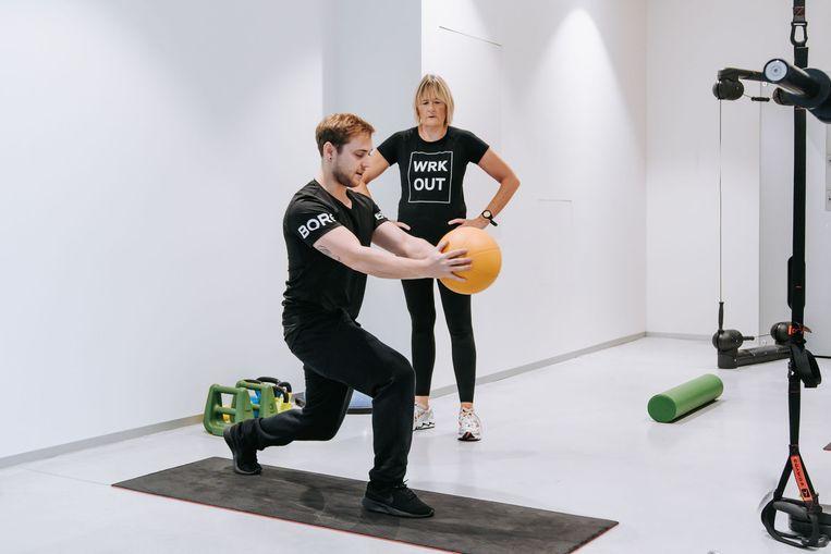 Bij Ctrl Gym in Brugge kan je onder meer sporten met een personal trainer.