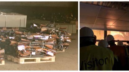 Meer dan 10.000 niet-vergunde wapens vernietigd in hoogovens van ArcelorMittal