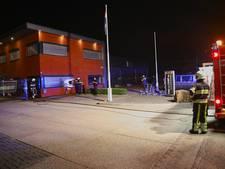 Brandstichting bij kantoor transportbedrijf v.d. Camp in Oss