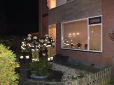 Bewoner lichtgewond bij brand aan Willem de Zwijgerstraat in Staphorst