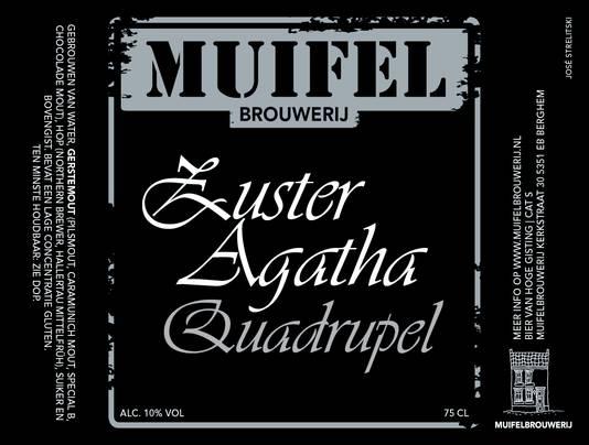 Brabants Lekkerste Bier 2015: Zuster Agatha van Muifelbrouwerij uit Oss.