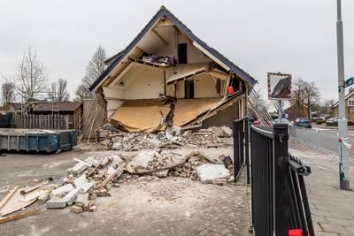 Het spant er om: herbouw of sloop ingestort huis in Made