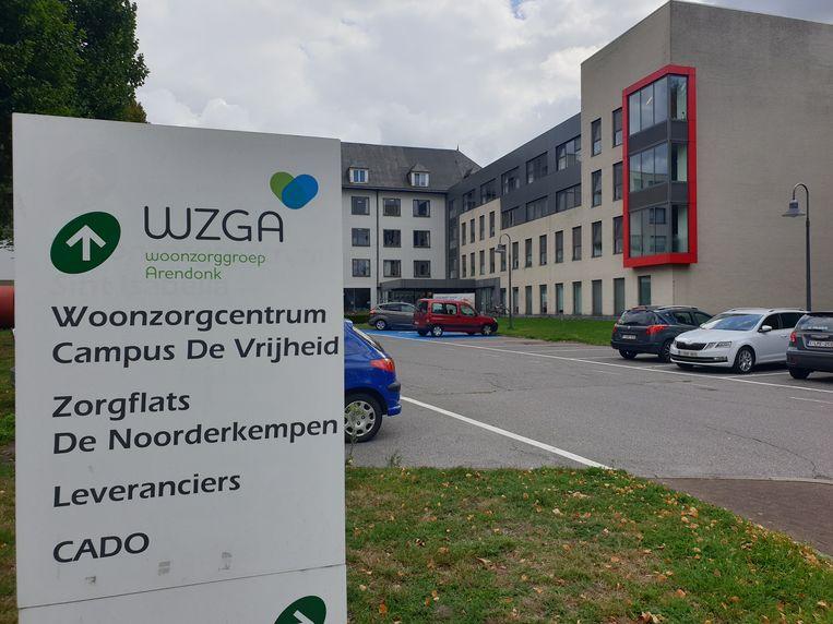 Campus De Vrijheid van Woonzorggroep Arendonk (WZGA).
