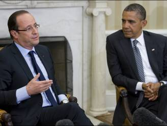"Hollande belt met Obama: ""Samen strijd tegen terrorisme versterken"""