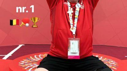 Stadense tafeltennisser wint brons op Special Olympics