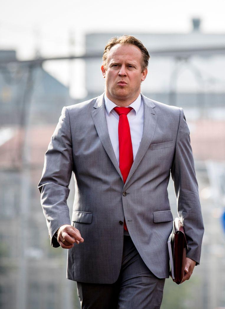 Pieter Heerma (42). Hij volgde in mei Sybrand Buma op als fractievoorzitter van het CDA en kan het goed vinden met Rob Jetten. Beeld ANP/Bart Maat