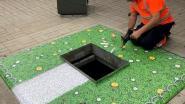 Ondergrondse containers Vlasdam krijgen kunstgras in de strijd tegen sluikstorten