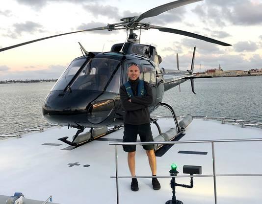 Ara Zobayan, le pilote de l'hélicoptère, a aussi perdu la vie