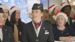 British Airways brengt passagiers in kerstsfeer met muzikale verrassing